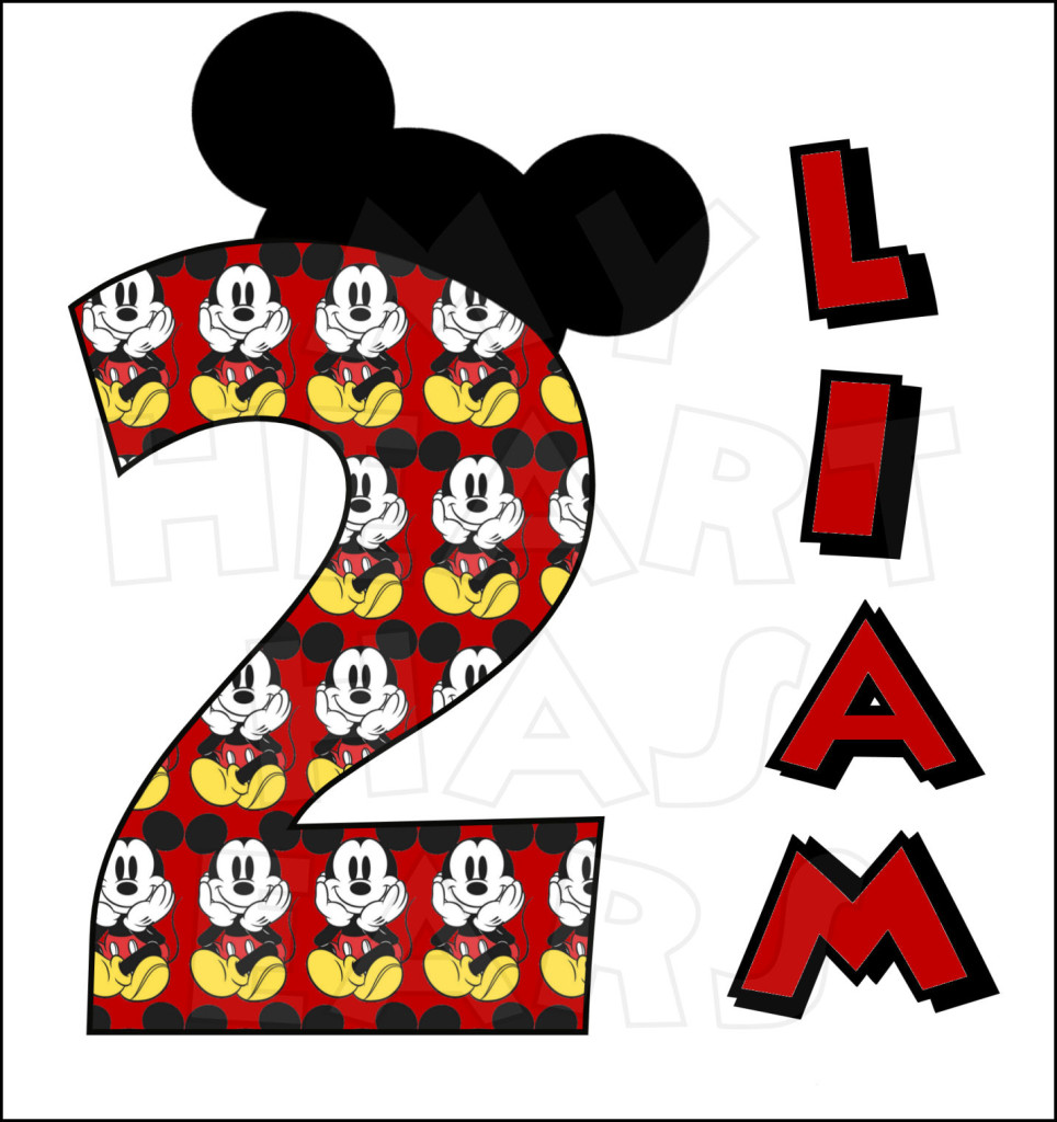 Mickey Mouse clipart number 2 #5