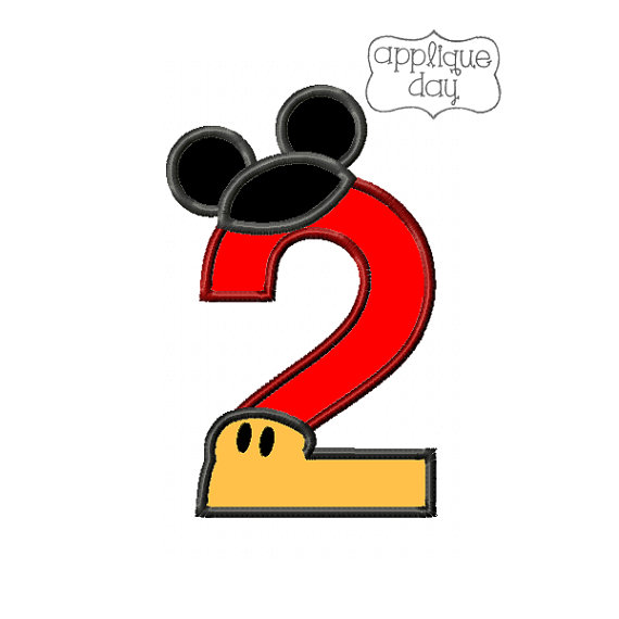 Mickey Mouse clipart number 2 #7