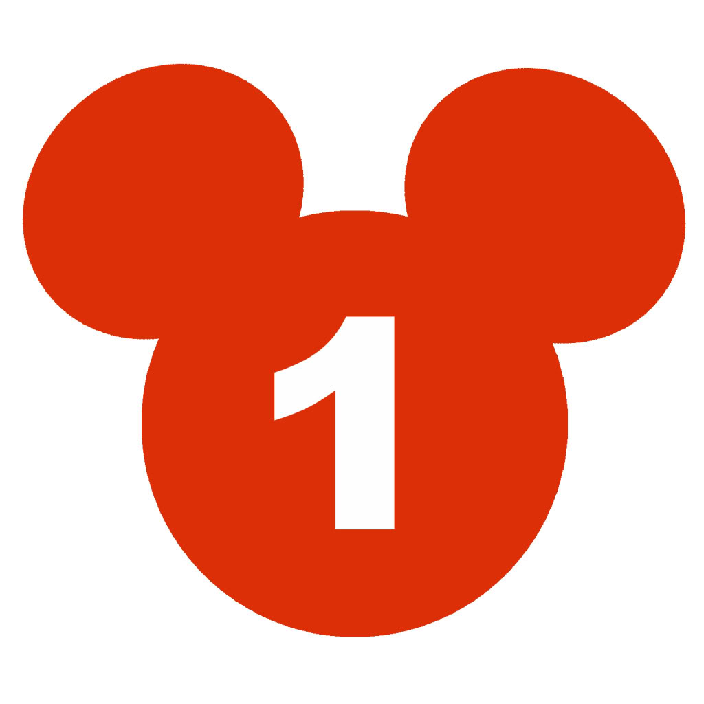 Mickey Mouse clipart number 4 Clipart Art Download For