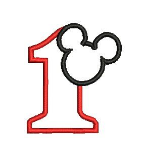 Mickey Mouse clipart one #14
