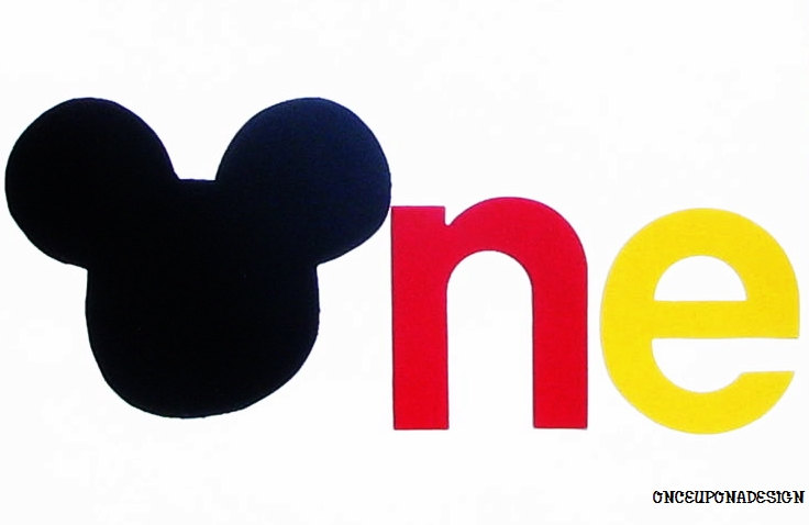Mickey Mouse clipart one #9