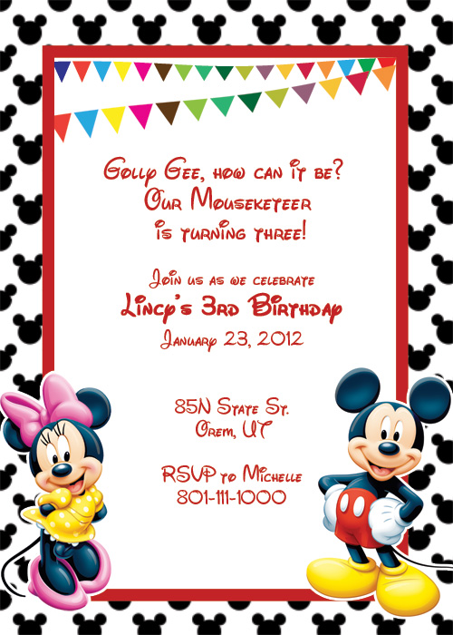 Mickey Mouse clipart page border Border mouse clipart Mouse Mickey