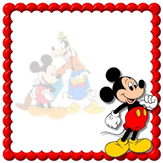 Mickey Mouse clipart page border (12+) border Mouse Border Page