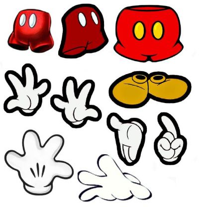 Mickey Mouse clipart part #8
