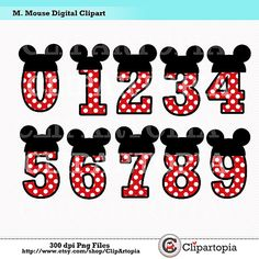 Mickey Mouse clipart part #5