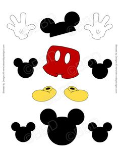 Mickey Mouse clipart part #6