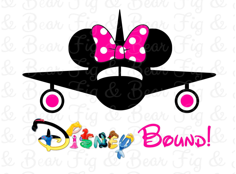 Airplane clipart mickey Shirt Plane Bound Disney Iron
