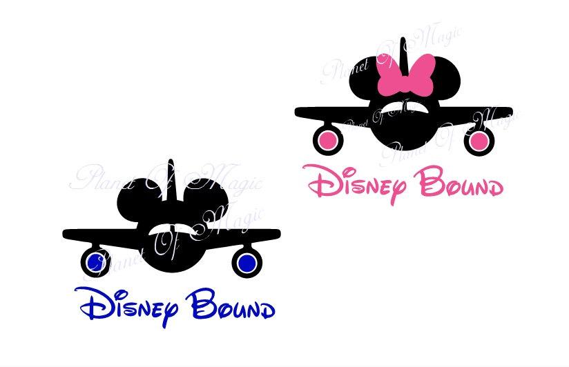 Airplane clipart mickey Disney Svg is Minnie Bound