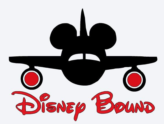 Airplane clipart mickey Pinterest images Decal * BOUND