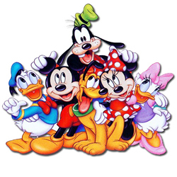 Mickey Mouse clipart printable #14