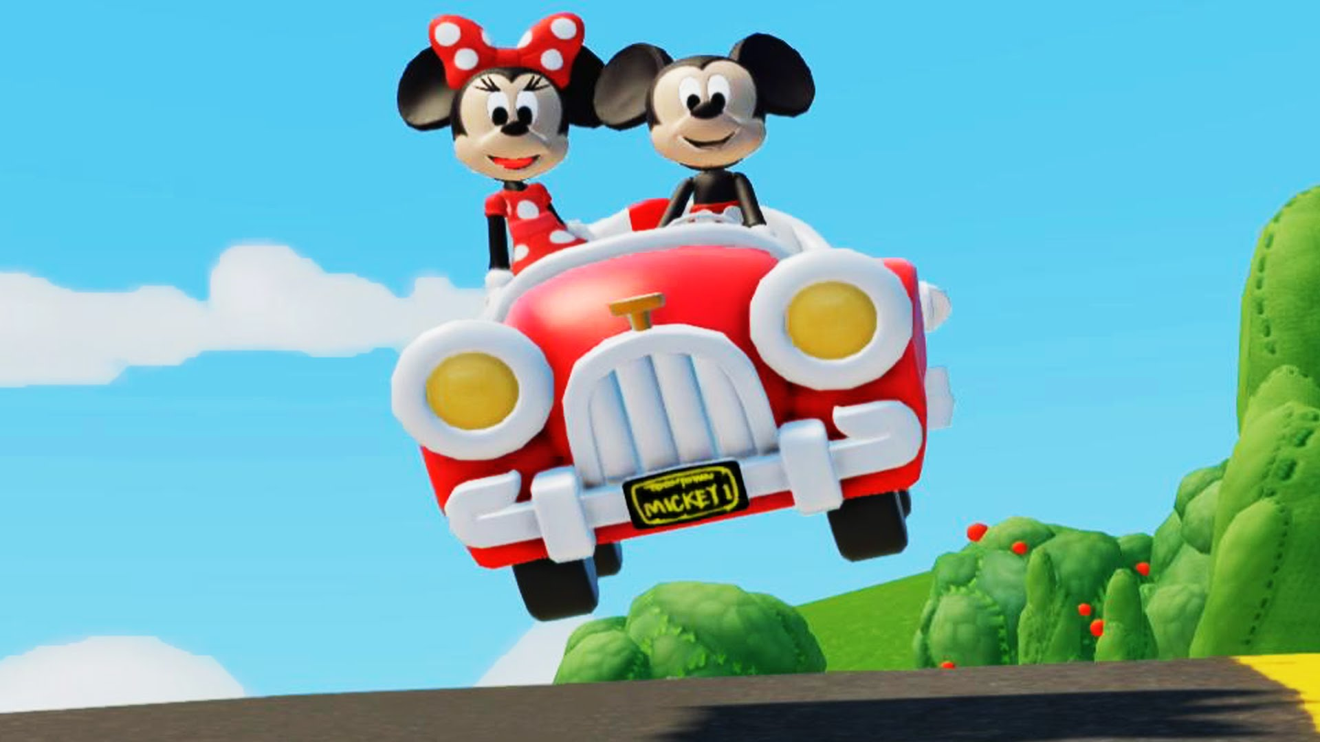 Donald Duck clipart car driving Mickey Donald with Mouse Mater