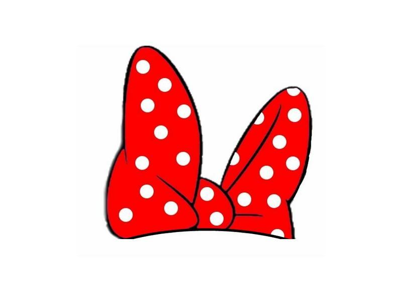 Ribbon clipart minnie mouse #9