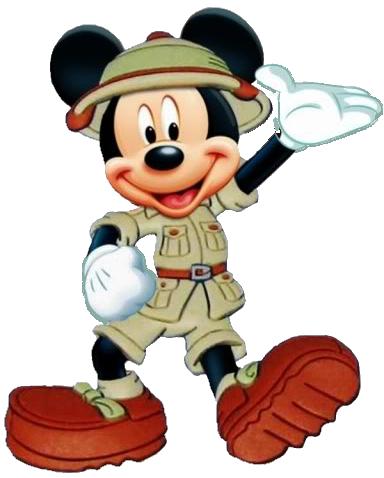 Safari clipart mickey mouse and friend Mickey Mickey Safari Mouse Wave