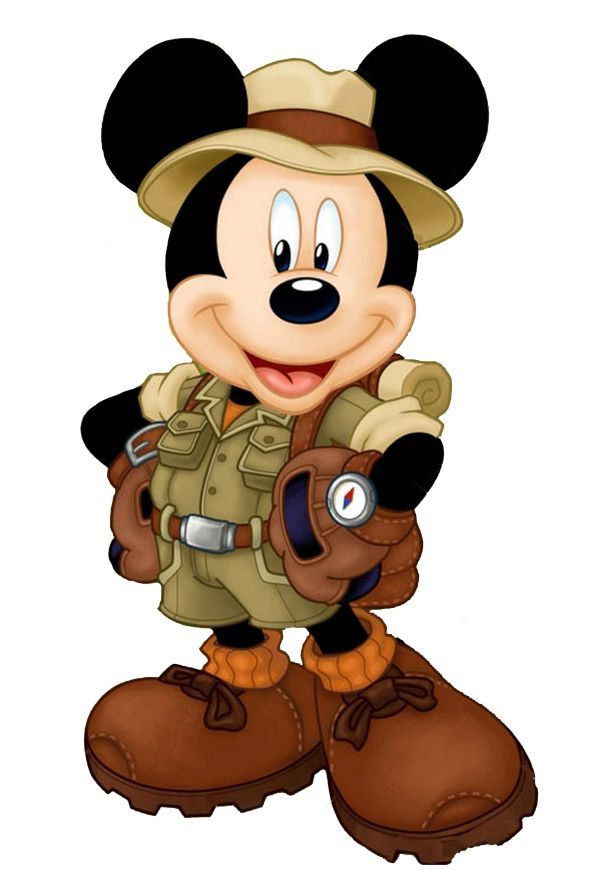 Mickey Mouse clipart safari The Outdoors best Mouse clipart