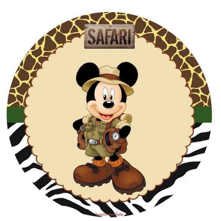 Mickey Mouse clipart safari Safari on e Best minnie