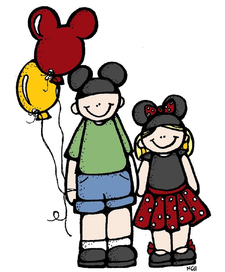 Mickey Mouse clipart school bus #11