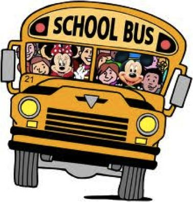 Mickey Mouse clipart school bus #5