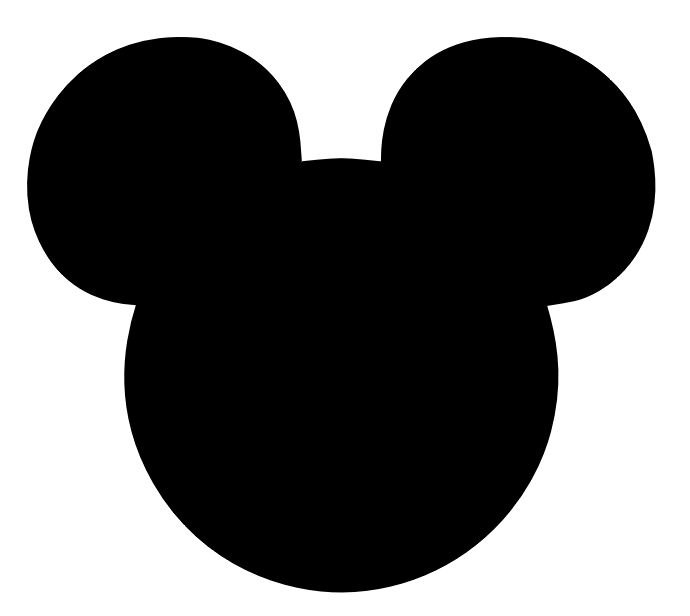 Shadow clipart mickey mouse #3