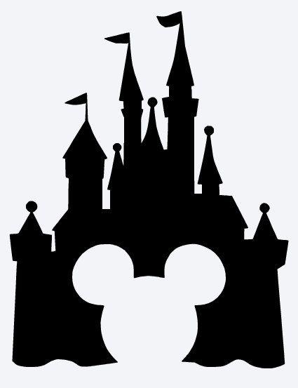 Castle clipart magic kingdom Pinterest Elsa Disney Sjablonen Inspired