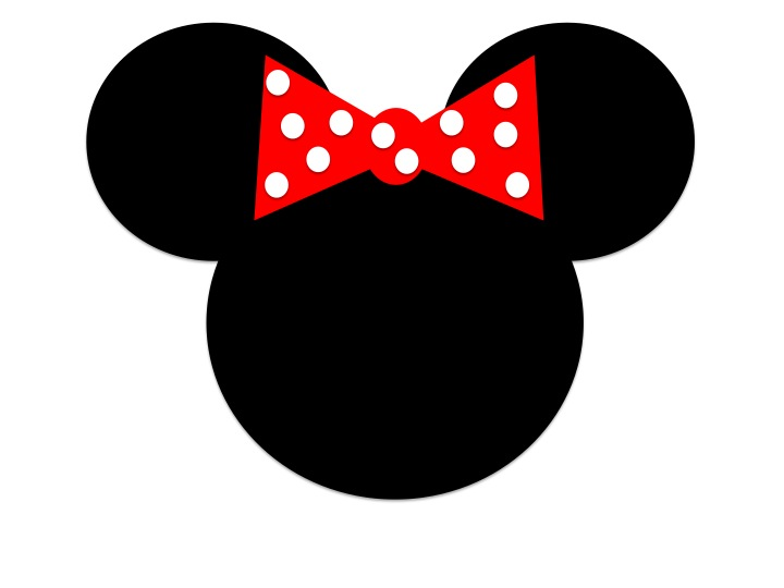 Mickey Mouse clipart shape #2