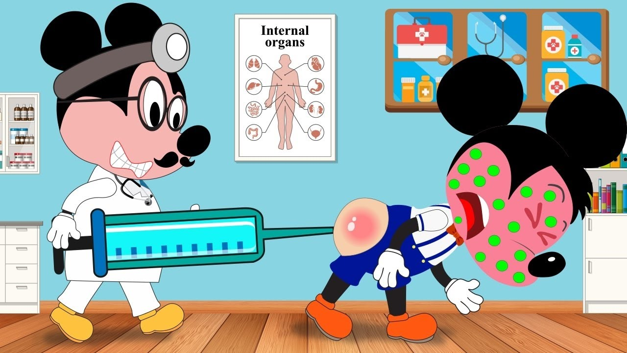 Mickey Mouse clipart sick Because Full Sick Mouse Baby