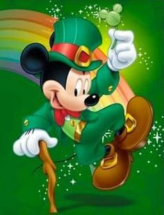 Mickey Mouse clipart st patricks day Mickey's and Images Mouse Luck