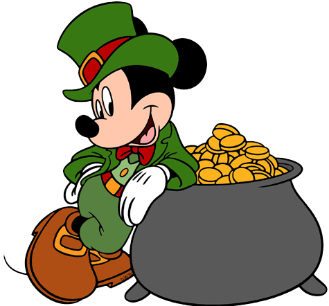 Mickey Mouse clipart st patricks day  Images Disney Holiday Mickey