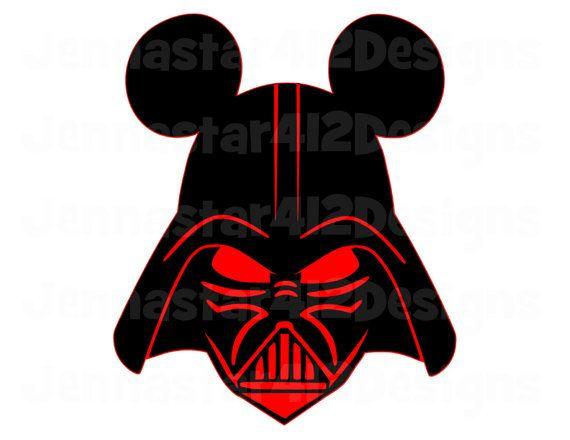 Star Wars clipart mickey head Star 40 Pinterest Disney this