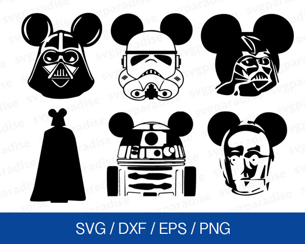 Star Wars clipart cricut Svg Wars Star Etsy Mouse