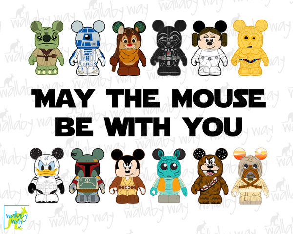 Star Wars clipart mickey head Star Printable the with Wars