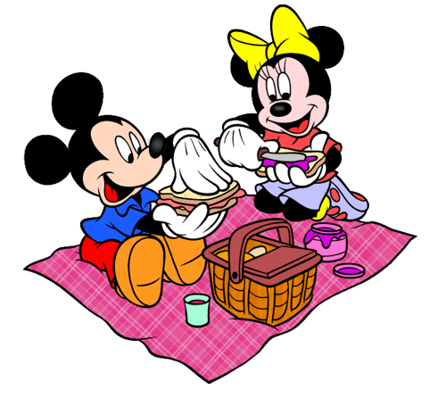 Picnic clipart minnie mouse #1