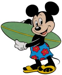Mickey Mouse clipart surfing  2 Mickey Nancys Clipart