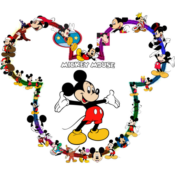 Mickey Mouse clipart surfing  mouse mickey Polyvore