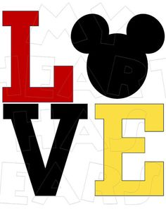 Tie clipart mickey mouse De Alfabeto Iron Pinterest DOWNLOAD