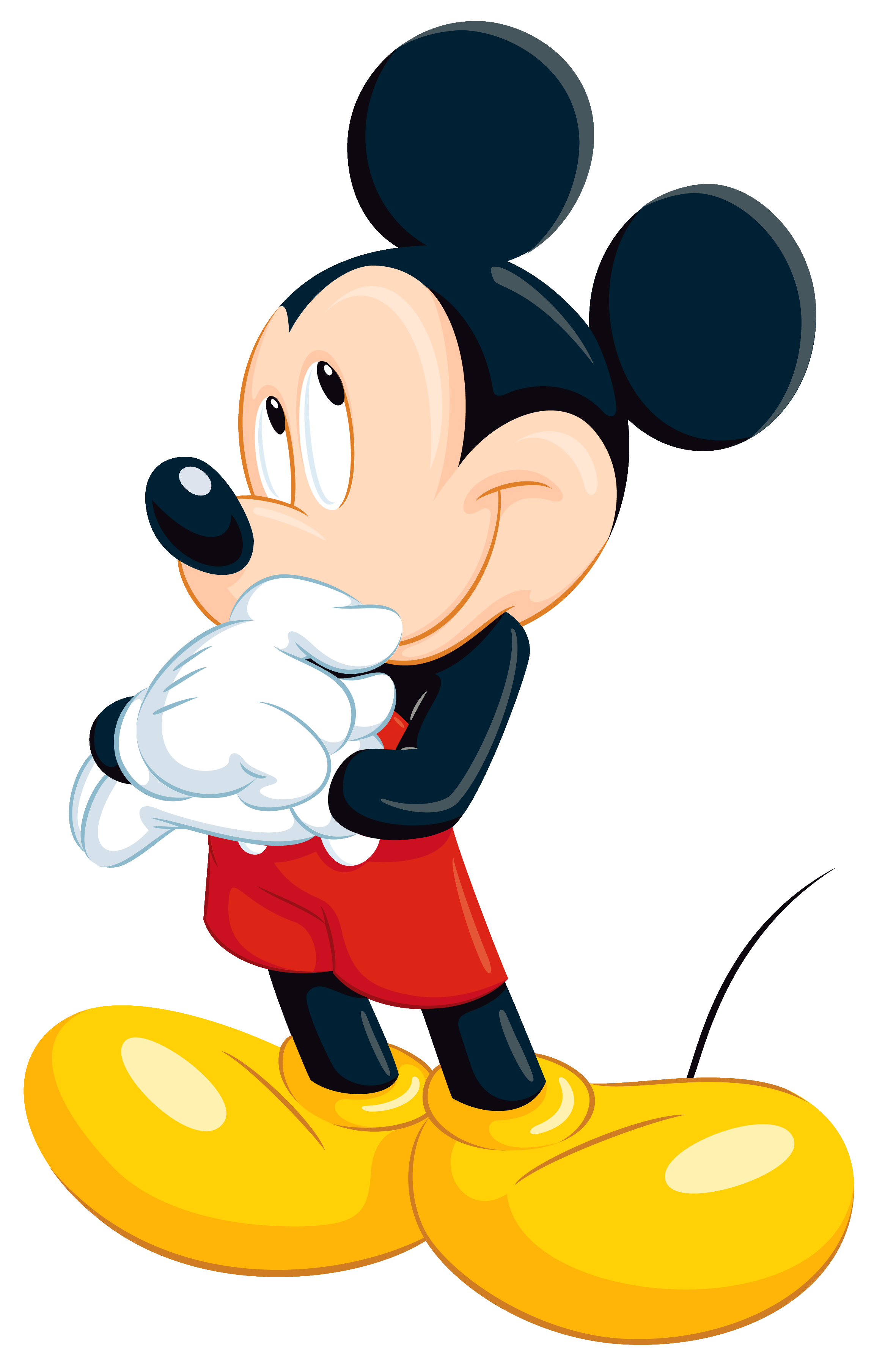 Mickey Mouse clipart transparent background Image size PNG Clipart