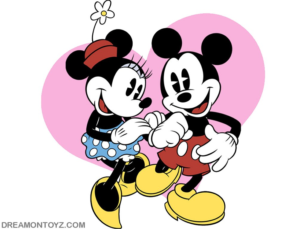 Mickey Mouse clipart valentine's day Of a and Cartoon heart