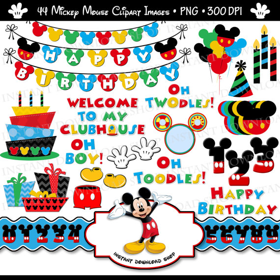 Mickey Mouse clipart welcome Third Mickey Mouse Digital Mickey