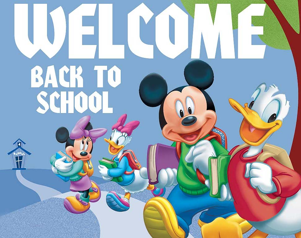 Mickey Mouse clipart welcome To School 40 Back To