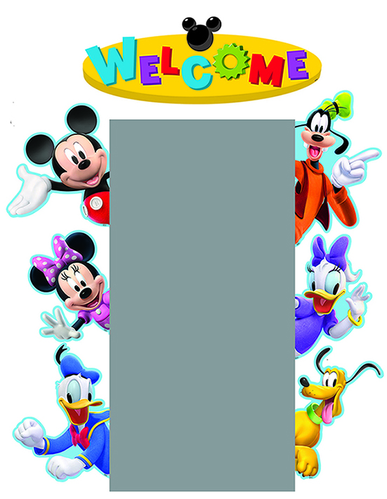 Mickey Mouse clipart welcome Clubhouse  Mickey Mouse Clipart
