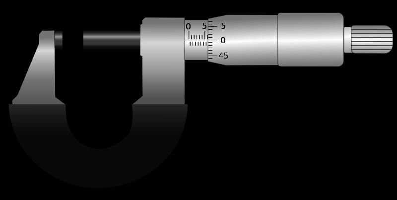 Micrometer clipart Micrometer micrometer Free Clip Art