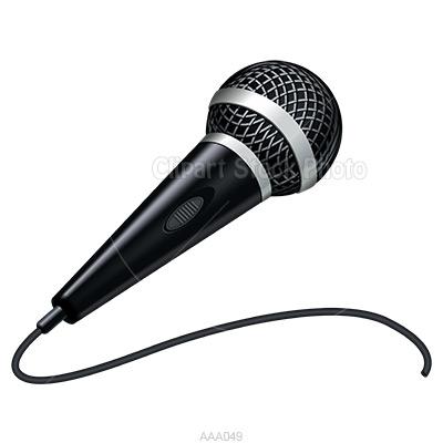 Microphone clipart Free Clipartix kid Clip Microphone