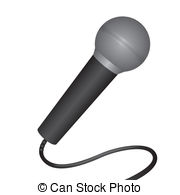 White 43 677 Illustrations microphone
