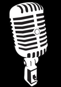 Drawn microphone vector Vector Crafty 212x300 (212×300) Pinterest