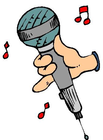 Microphone clipart cartoon Cartoon kid 7 Clipartix Microphone