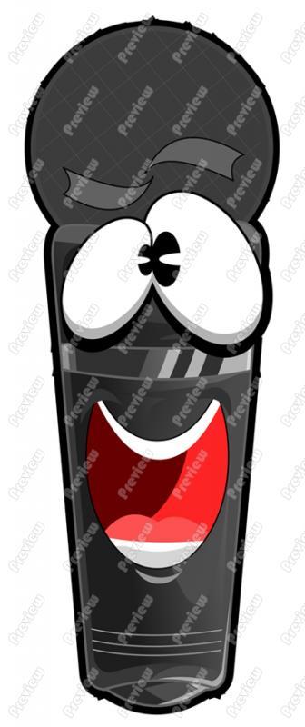 Microphone clipart cartoon Clipart Art Vector Art Clip
