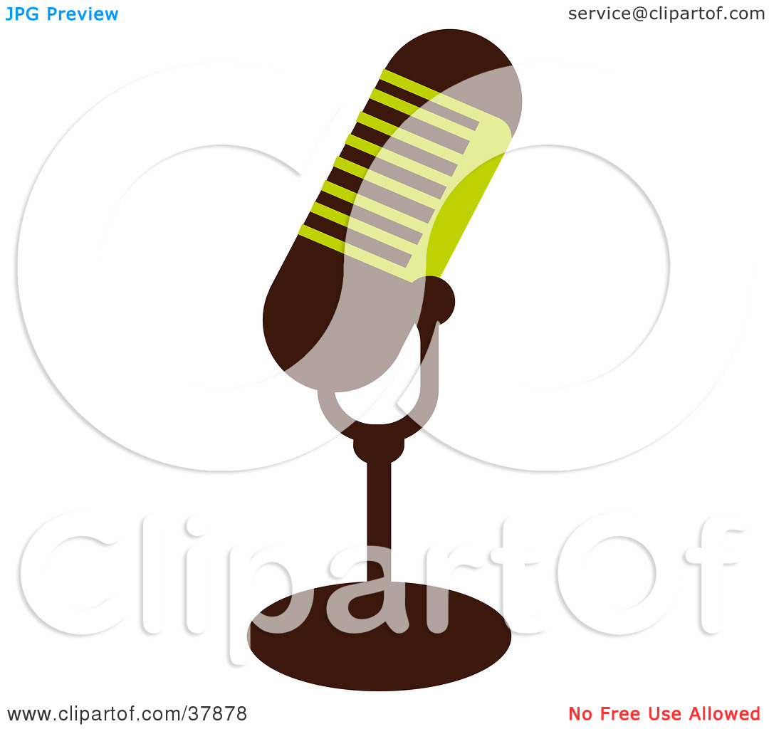 Microphone clipart cord illustration With Microphone Clipart  Cord