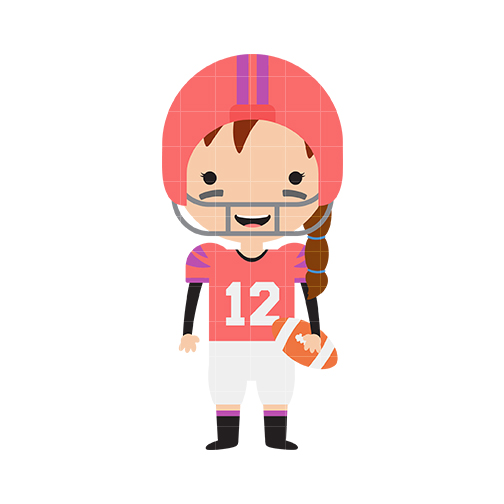 Microphone clipart girly Microphone Football Clipart Pink Clipart