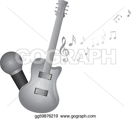 Microphone clipart instrument #4