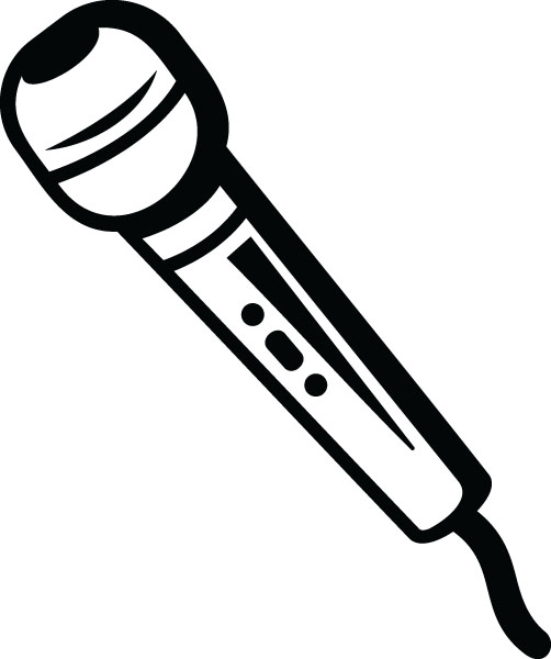 Microphone clipart instrument #1