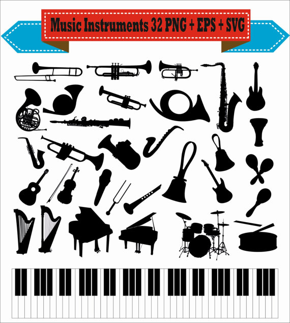 Microphone clipart instrument #8